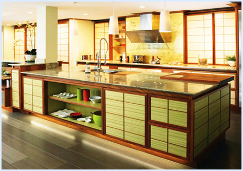 Kitchen cabinet kitchen cabinet design showcase part 9 for Asian kitchen cabinets design