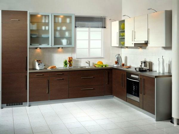 The L-shapped Kitchen Design