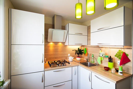 Design a smaller kitchen